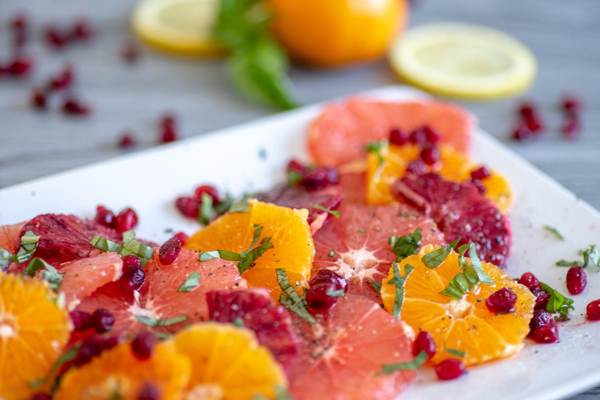 Starve-Free Detox with Sesame Grapefruit Salad